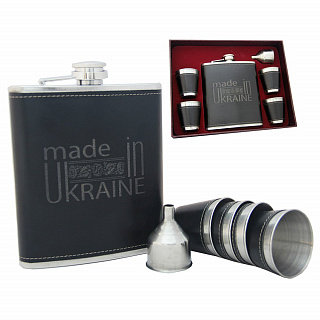 Большая фляга made in Ukraine FP610121